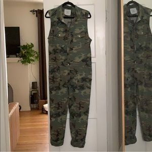 Acacia Hollywood jumpsuit in Camo NWT